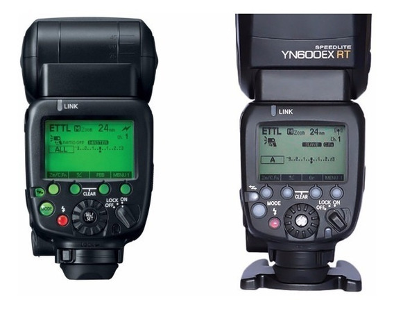 Novo Flash Yongnuo Speedlite Yn 600ex-rt Ii Canon Ttl Hss1