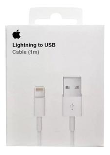Cabo Carregador iPhone 5 6 7 8 iPad Original Apple