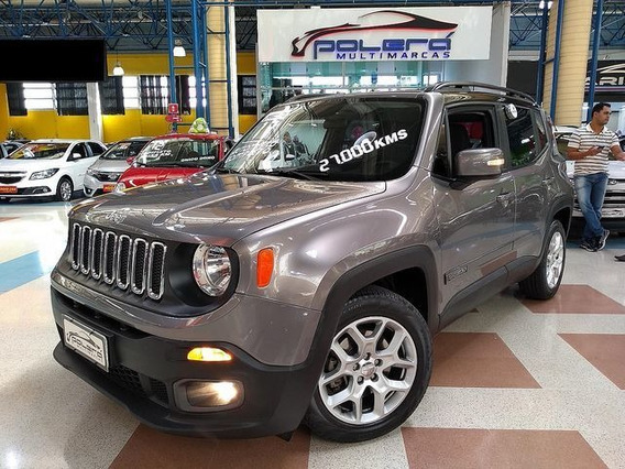 Jeep Renegade Longitude 1.8 Flex At 2017 C/ Couro!