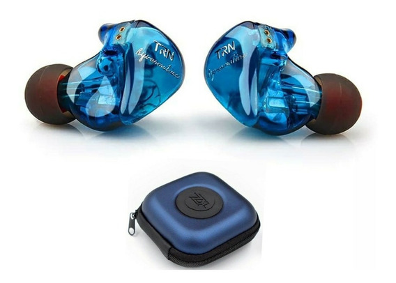 Fone In-ear Trn Im1 Dual Drive Retorno De Palco Sem Mic Prof