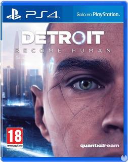 Juego Detroit Become Human Ps4 Nuevo Sellado Fisico
