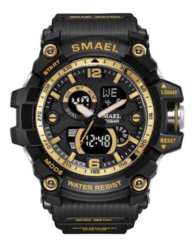 Relógio Smael Analógico Digital Luxo Estilo 2021