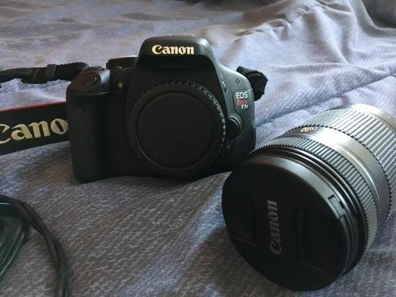 Canon T3i + Lente 18-55mm