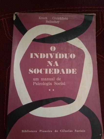 Livro O Indivíduo Na Sociedade