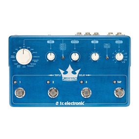 Pedal Tc Electronic Flashback Triple Delay E Looper Loop.