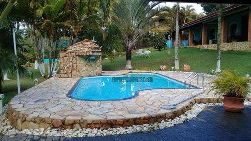Imagem 1 de 26 de Chácara Com 3 Dormitórios À Venda, 2500 M² Por R$ 1.200.000,00 - Chácara Residencial Paraíso Marriot - Itu/sp - Ch0087