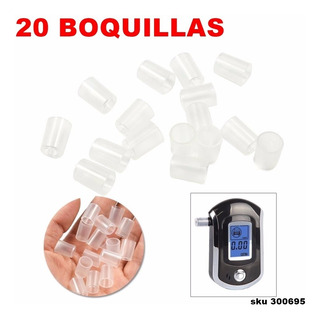 Repuesto 20 Boquillas Para Alcoholimetro At6000 W01