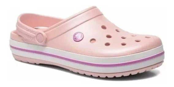 Crocs Crocband Pearl Pink/wild Orchid 1025