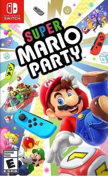 Super Mario Party - Switch Mídia Física
