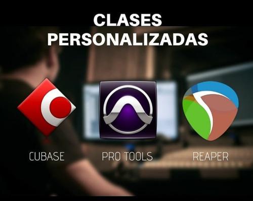 Imagen 1 de 8 de Clases Pro Tools, Cubase Y Reaper - A Distancia -