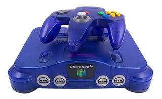 Consola Midnight Blue Nintendo 64