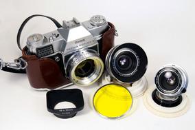 Câmera Kodak Retina S + 2 Lentes Schneider Kreuznach