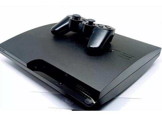 Ps3 Playstation 3 Slim + 72 Jogos Originais