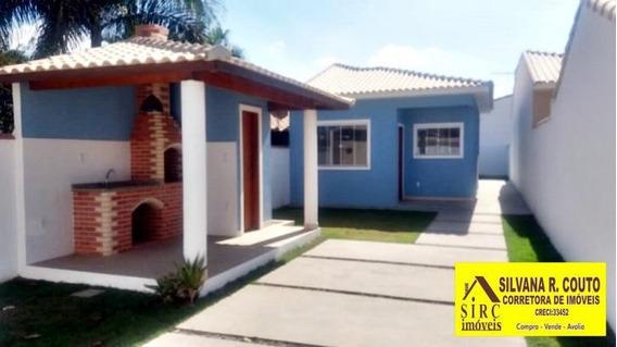 Casa Em Itaipuaçu 2 Qts, Espaço Gourmet - R$ 280 Mil - 225