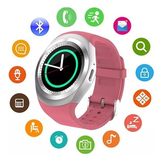 Relógio Smartwatch Inteligente Bluetooth Android Y1 Gartur