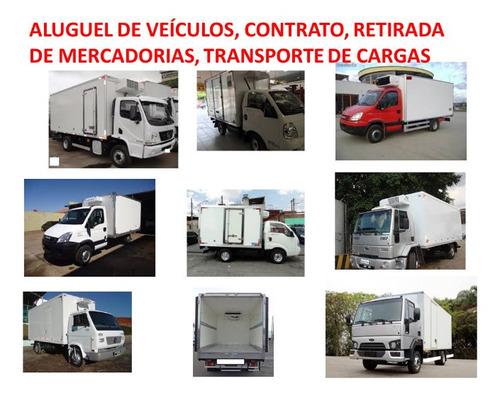 Imagem 1 de 4 de Transportes Produtos Refrigerados - Aluguel Veículos