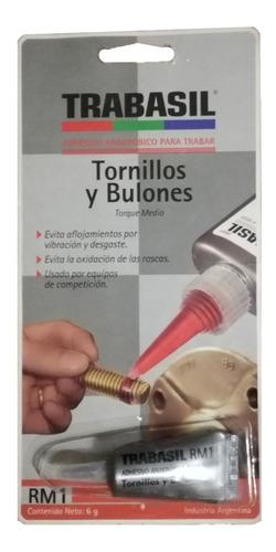 Pegamento Para Tornillos / Bulones Rm1 Trabasil Avant Motos