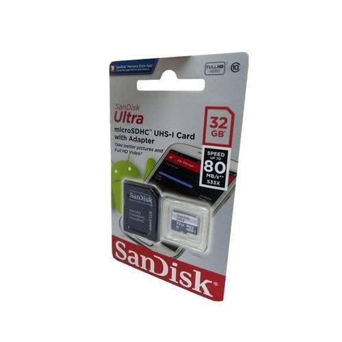 Cartão Micro Sd Cartões 32gb Sd Classe 10