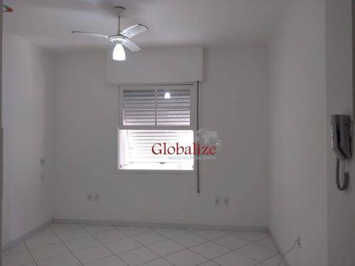 Kitnet À Venda, 20 M² Por R$ 165.000,00 - Embaré - Santos/sp - Kn0028