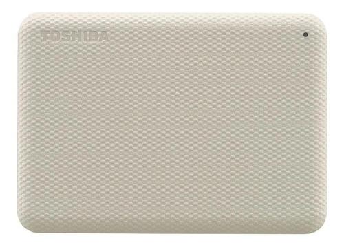Imagen 1 de 4 de Disco duro externo Toshiba Canvio Advance HDTCA10X 1TB blanco