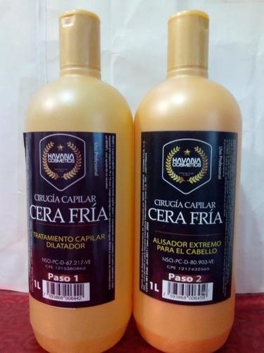 Cera Fria Havana Cirugía Capilar - L a $32000