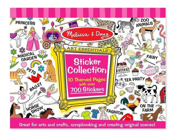 Colección De Stickers -rosa - Melissa & Doug