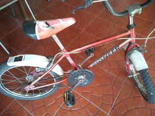 Bicicleta Niño Pioneer Rodado 16