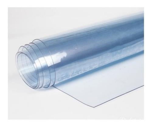Hule Cristal Pvc Transparente 300 Micrones X 50 Mts N° 3