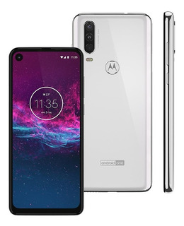 Celular Smartphone Motorola One Action 128gb (usado 6 Meses)
