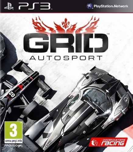 Grid Autosport Ps3 Español Digital Tenelo Hoy!!
