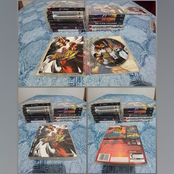 Games Jogos Ps3 Play3 Usado Street Fighter 4