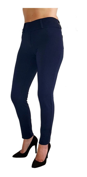 Pack X 3 Leggings Calzas Mujer Modelo Jean Levanta Cola Tqc