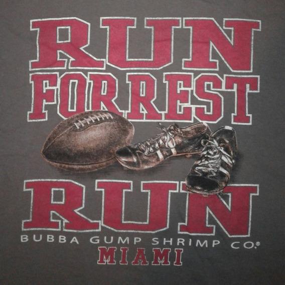 Remera T-shirt Run Forrest Run Bubba Gump Shrimp Original