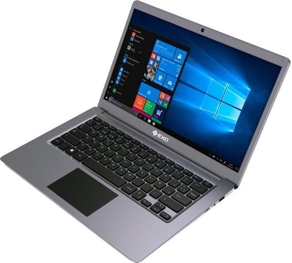 Notebook Cel E24 4g500gb W10 14.1p. Exo