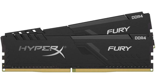 Memórias Hyperx Fury 32gb (2x16gb) Cl18 Ddr4 3600mhz