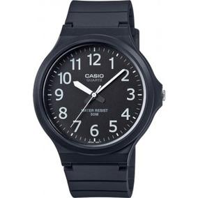 Relógio Casio Masculino 50 Metros Emborrachado Mw-240-1bvdf
