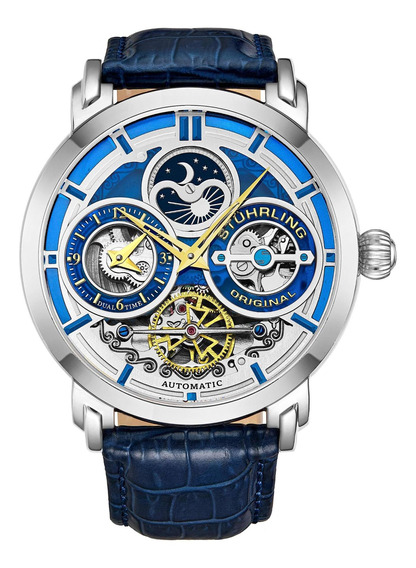 Relógio Stuhrling - Luciano 371a Automatic 45mm Skeleton