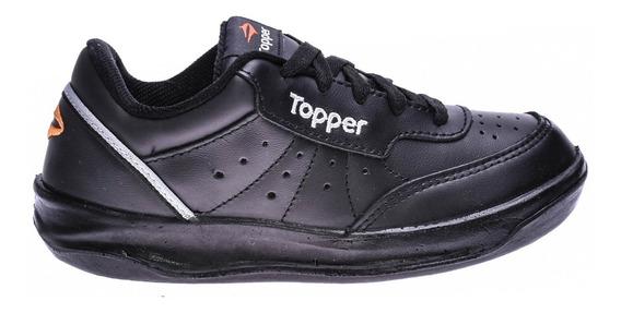 Zapatilla Topper X Forcer Kids Negro