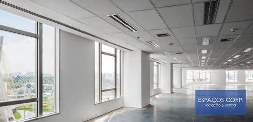 Imagem 1 de 8 de Laje Corporativa Para Alugar, 3.664m² - Brooklin - São Paulo/sp - Lj0672