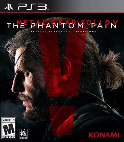 Jogo Ps3 Metal Gear Solid 5