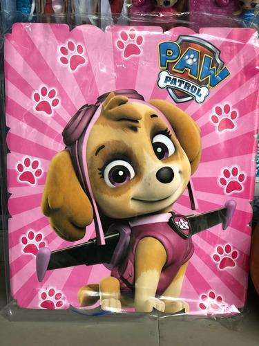Piñata Infantil Cuadrada Paw Patrol Patrulla Canina Skye