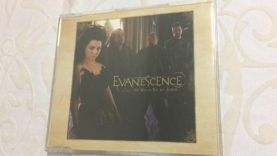 Cd Single Evanescence Call Me When Youre Sober