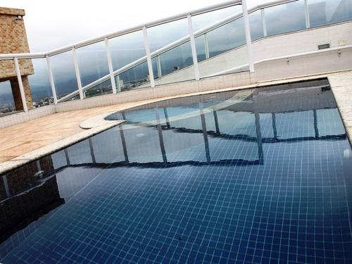 Imagem 1 de 7 de Apartamento, 3 Dorms Com 90.44 M² - Ocian - Praia Grande - Ref.: Rgv971 - Rgv971