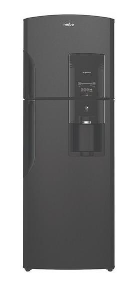 Refrigerador Automático 400 L Black Stainless Steel Mabe - R