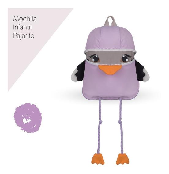 Mochila Infantil Con Correa De Seguridad Ideal Para Jardín