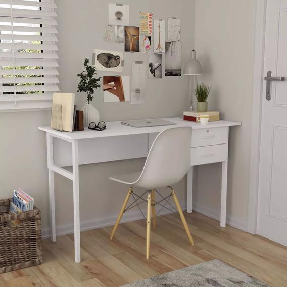 Mesa Escrivaninha Multiuso Com Gaveteiro