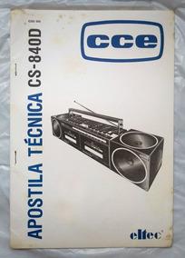 Apostila Técnica Cce Modelo Cs-840d