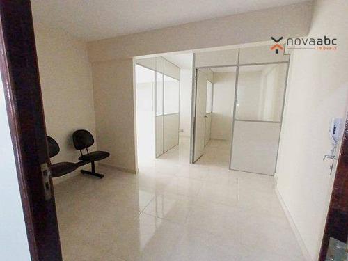 Sala Para Alugar, 47 M² Por R$ 1.350/mês - Centro - Santo André/sp - Sa0324