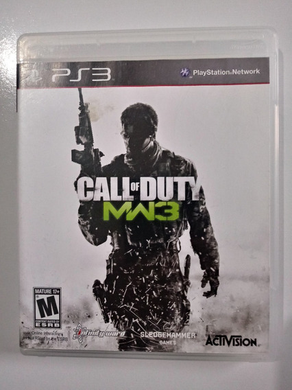 Call Of Duty Modern Warfare 3 Original Ps3 Playstation 3