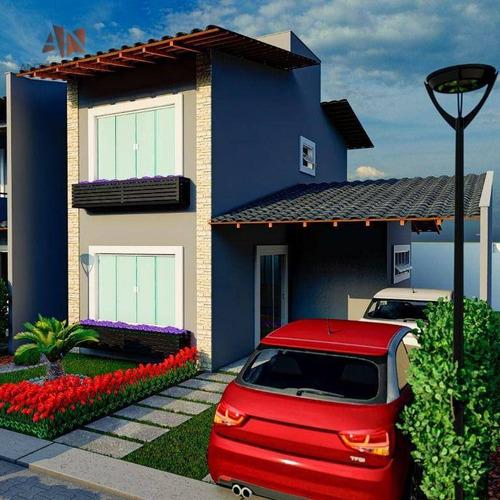 Imagem 1 de 10 de Casa Com À Venda No Passaré - Fortaleza/ce - Excelente Localização - Ca0266